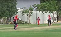 Oman kick off pentangular series with 7-wicket win over Hong Kong
