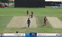 Khawar Ali's Hat-trick Downs Netherlands by 7 Wickets in Oman Pentangular Series