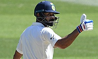 Kohli double ton & early strikes leave South Africa tottering on Day 2 of Pune Test