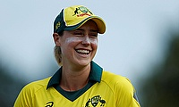 Ellyse Perry in action