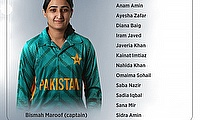 Pakistan Women Team for T20I Series Against Bangladesh Announced