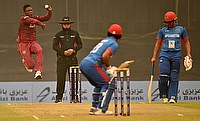 Chase and Hope help Windies start with a win in Azizi Bank ODI Cup against Afghanistan
