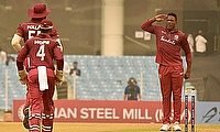 West indies beat Afghanistan by 47 runs in 2nd ODI at Lucknow