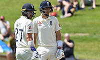 England's Joe Root and Rory Burns