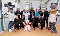 Sussex cricketers visit The Royal Alexander Children's Hospital