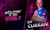Rajasthan Royals sign England international Tom Curran following busy IPL Auction
