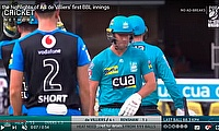 Highlights of AB de Villiers' first BBL innings