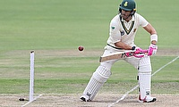 January 19, 2020 South Africa's Faf du Plessis in action