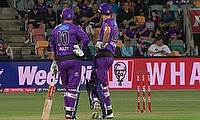 Hobart Hurricanes beat Sydney Thunder by 57 runs in BBL