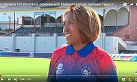 ICC Women's T20 World Cup - Interviews with the Thailand Women's Team