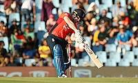 3rd T20I South Africa v England:  Morgan blitz carries England to series win