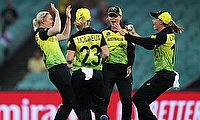 ICC Women's T20 World Cup: Australia beat South Africa by 5 runs (DLS)