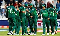 ICC Cricket World Cup - England v Pakistan - Trent Bridge, Nottingham, Britain - June 3, 2019 Pakistan celebrate victory