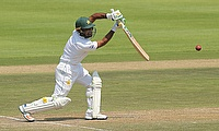 Pakistan's Asad Shafiq in action