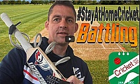 Cricket Coach 365 | Activity 9: Batting from deliveries onto garden table