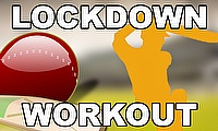 Cricket Lockdown Workout with Chinmoy Roy