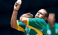 South Africa's Andrew Hall