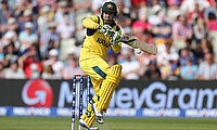 Australia's Phillip Hughes in action