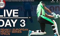 Live European Cricket Series Cyprus, Day 3