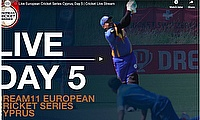 Live European Cricket Series Cyprus, Day 5 | Cricket Live Streaming