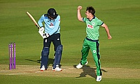 Curtis Campher had a great day with bat and ball for Ireland