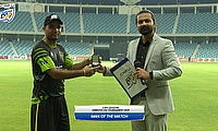 Rehman Gull was named player of the match