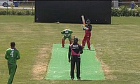 BC Champions batting in the semi final