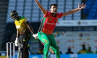 Naveen-ul-Haq bowled a good mid-innings spell