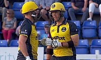 Glamorgan players