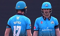 Worcestershire Rapids's Rutherford and Haynes