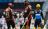 Kieron Pollard and Dwayne Bravo (Trinbago Knight Riders)