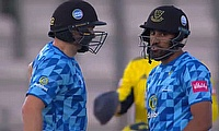 Sussex Sharks batsmen Luke Wright and Ravi Bopara