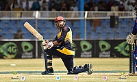 Noor Ali Zadran blasts one during his knock