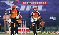 Jonny Bairstow and David Warner SRH