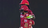 Chris Gayle and Mandeep Singh shared a match-winning stand