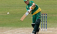South Africa's Marizanne Kapp in action