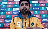 Babar Azam and Chamu Chibhabha hold pre-series media conferences ahead of the Zimbabwe series