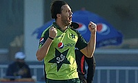 Top bowling again from Usman Qadir (4-13)