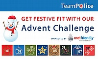 Get Festive Fit with the TeamPolice Advent Challenge