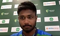 Sanju Samson discusses India's concussion substitute