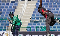 Action from 1st ODI: UAE v Ireland