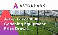 Win up to £1,000 worth of cricket coaching equipment with Aston Lark