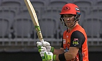 Josh Inglis 58 for Scorchers today
