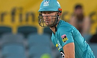 Chris Lynn 52 for the Heat today