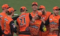 Perth Scorchers celebrate