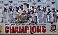 West Indies clinch 2-0 Test series win over Bangladesh