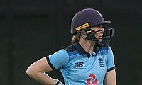 Heather Knight 67* for England Women
