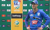 George Linde speaks after Six Gun Grill Cape Cobras victory in CSA T20 Challenge