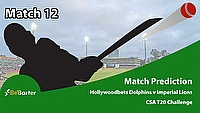 CSA T20 Challenge 2021- Imperial Lions vs Hollywoodbets Dolphins- Match 12