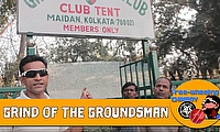 Grind of the Groundsman - Maidan, Kolkata